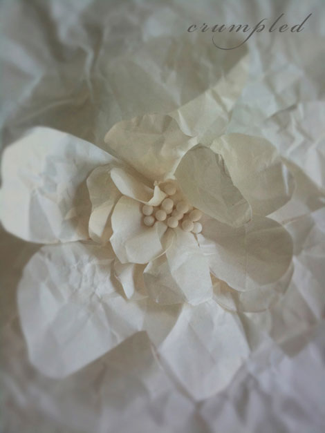Crumpled-flower