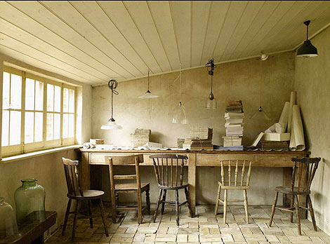 Great Busy Being Fabulous: Image Of The Day.....The Country Office.